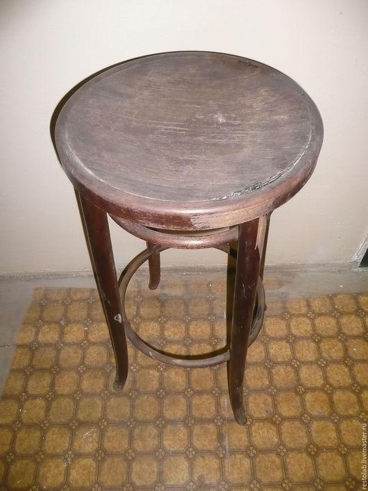 Реставрация. Ярмарка Мастеров - ручная работа. Купить Реставрация старого гнутого столика массива бука.. Handmade. Коричневый, ретро стиль