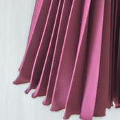 Одежда ручной работы. Ярмарка Мастеров - ручная работа Модная юбка на заказ плиссе из тонкой костюмной ткани. Handmade.