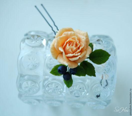 диаметр розы 3,5см персиковая роза