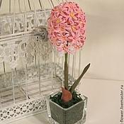 Цветы и флористика handmade. Livemaster - original item Hyacinth. Flowers from polymer clay.. Handmade.