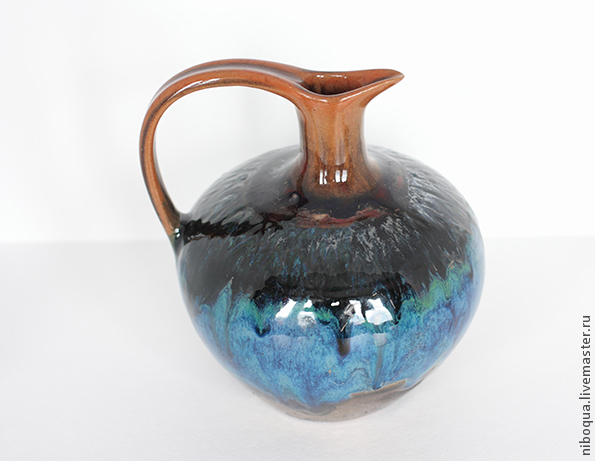 Ваза-кувшин керамический Pavone