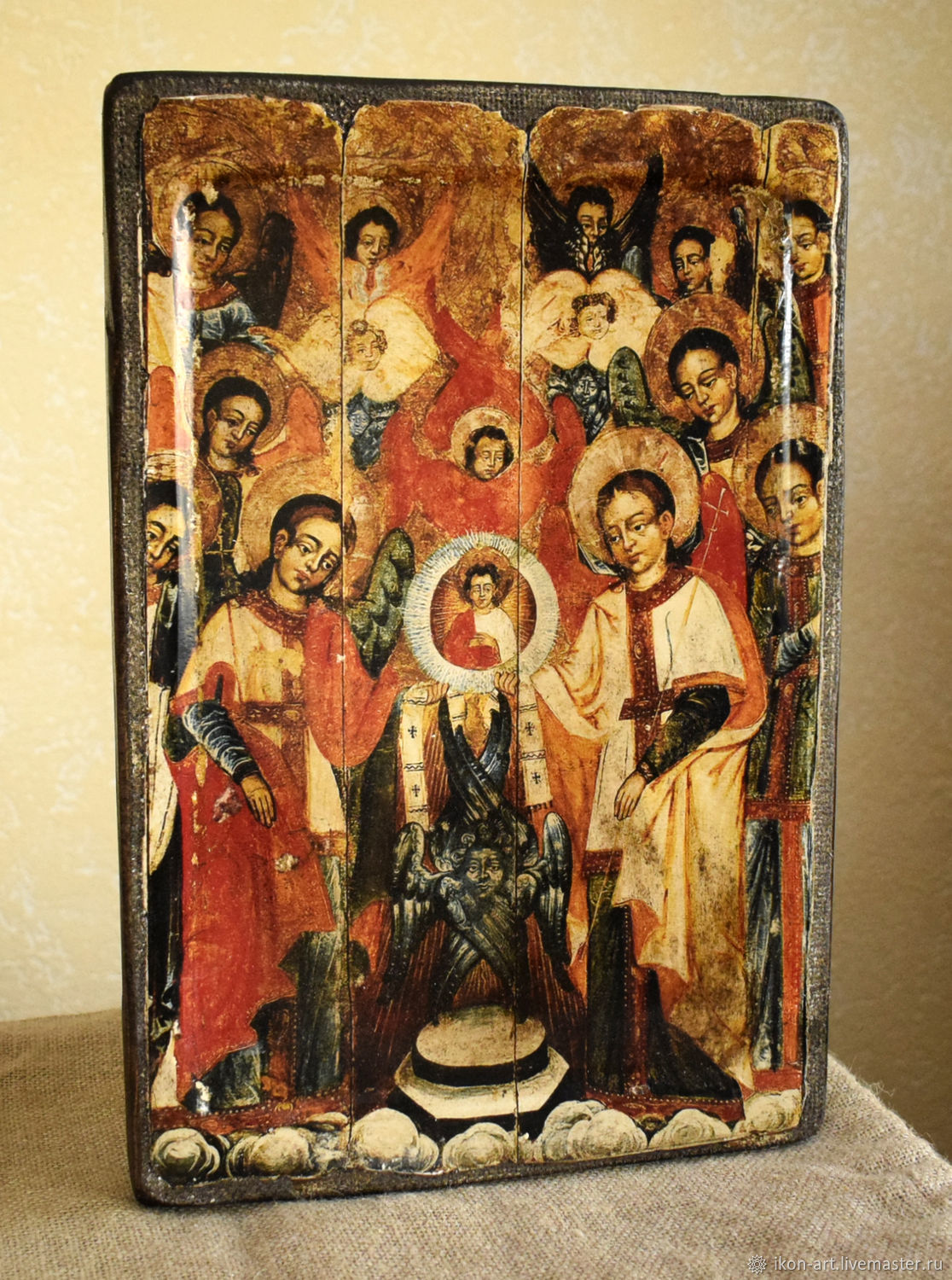 The icon of the Cathedral of the Archangel Michael and all bodiless powers of Heaven, Icons, Simferopol,  Фото №1