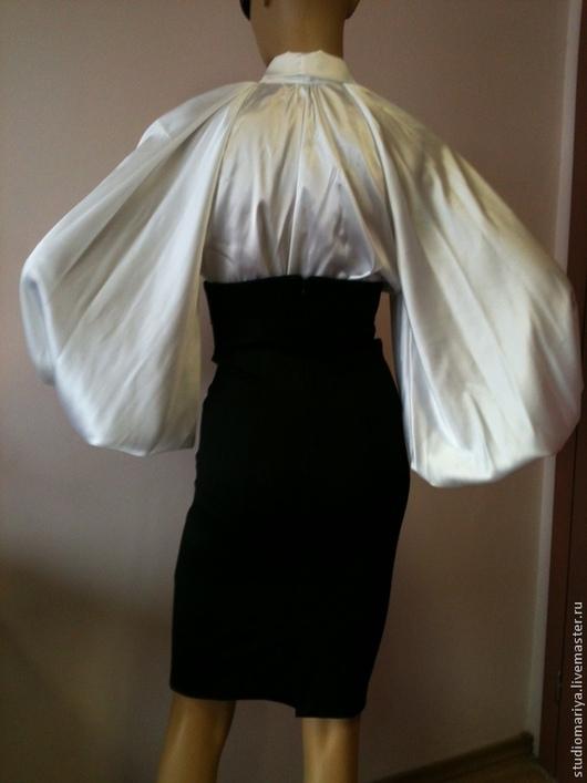 Белая нарядная блузка купить доставка