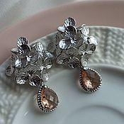 Украшения handmade. Livemaster - original item Earrings classic: Hydrangeas. Handmade.