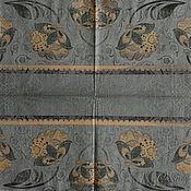 Материалы для творчества handmade. Livemaster - original item Napkins for decoupage lace grey folk motifs. Handmade.