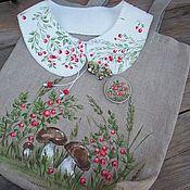 Аксессуары handmade. Livemaster - original item Set: Bag, collar and jewelry. Painting.. Handmade.