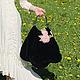 Женские сумки ручной работы. Ярмарка Мастеров - ручная работа. Купить Сумка ТЕРЕЗА. Handmade. Тёмно-синий, сумочка, на подкладке