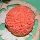 """Мыло ручной работы. Ярмарка Мастеров - ручная работа. Купить Мыло ручной работы """"Шар из роз"""". Handmade. Подарок девушке"""