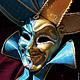 """Интерьерные  маски ручной работы. Ярмарка Мастеров - ручная работа. Купить Маска Джокер """"Венецианский плут"""" (veneziano dodger). Handmade."""