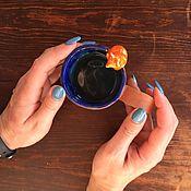 Посуда ручной работы. Ярмарка Мастеров - ручная работа Кружка Лисьи сказки керамика. Handmade.