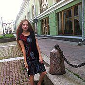Одежда ручной работы. Ярмарка Мастеров - ручная работа Маленькое черное платье 44-46 размер. Handmade.