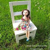 Куклы и игрушки ручной работы. Ярмарка Мастеров - ручная работа девочка Летняя. Handmade.