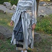Одежда ручной работы. Ярмарка Мастеров - ручная работа Бохо летнее Платье- пальто. Handmade.