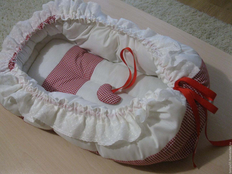 Кокон для новорожденного своими руками 69
