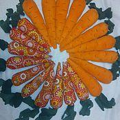 Мягкие игрушки ручной работы. Ярмарка Мастеров - ручная работа Морковки для аниматоров,реквезит. Handmade.
