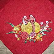 """Подарки к праздникам ручной работы. Ярмарка Мастеров - ручная работа салфетка пасхальная """"светлая Пасха"""". Handmade."""