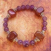 Украшения handmade. Livemaster - original item A bracelet made of stones is a Talisman for strong and purposeful natures. Handmade.