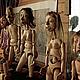 Коллекционные куклы ручной работы. Марионетка старика. Мастерская кукол  тел. 8 9036189838. Ярмарка Мастеров. Портретная кукла