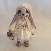 Куклы и игрушки ручной работы. Ярмарка Мастеров - ручная работа зайка Ариша. Handmade.