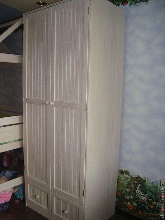 Мебель ручной работы. Ярмарка Мастеров - ручная работа. Купить Платяной шкаф. Handmade. Белый, мебель на заказ, сосна