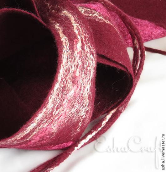 валяный шарф