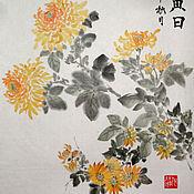 Картины и панно handmade. Livemaster - original item Yellow autumn sun. Handmade.