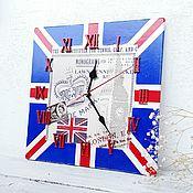 Часы ручной работы. Ярмарка Мастеров - ручная работа Великобритания, часы. Handmade.
