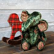 Куклы и игрушки ручной работы. Ярмарка Мастеров - ручная работа Слоник Афанасий. Handmade.