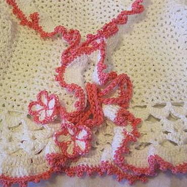 """Работы для детей, ручной работы. Ярмарка Мастеров - ручная работа БОЛЕРО для девочки """"Белая роза"""". Handmade."""