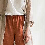 Одежда handmade. Livemaster - original item Copy of Copy of Linen dress loose fit. Handmade.