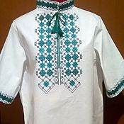 Одежда handmade. Livemaster - original item Men`s embroidery MP1 - 076. Handmade.