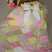 """Работы для детей, ручной работы. Ярмарка Мастеров - ручная работа Конверт-одеяло """"Пасхальный зайчик"""". Handmade."""