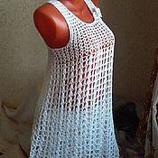 Одежда handmade. Livemaster - original item Summer tunic dress