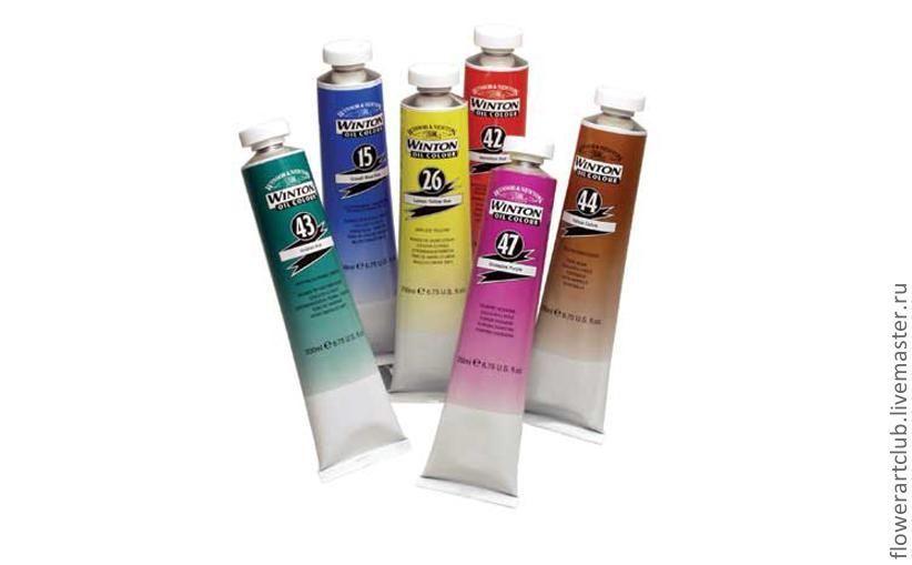 Краски масляные Winton -  37 ml - разные цвета, Краски, Москва,  Фото №1
