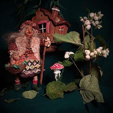 Куклы и игрушки ручной работы. Ярмарка Мастеров - ручная работа Игрушки: Баба Яга. Handmade.