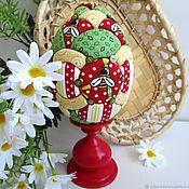 Сувениры и подарки handmade. Livemaster - original item Easter Bee egg (interior on a stand) gift for Easter. Handmade.