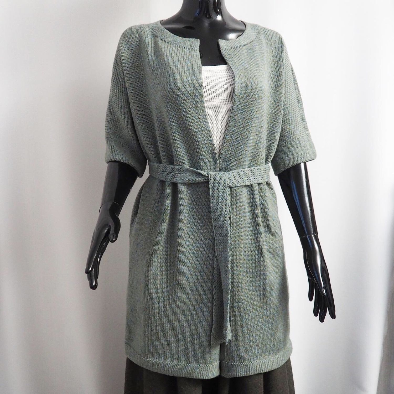 100% merino cardigan mint grey, Cardigans, Cheboksary,  Фото №1
