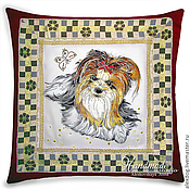Для дома и интерьера handmade. Livemaster - original item Decorative pillow