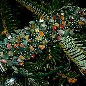 """Украшения ручной работы. Ярмарка Мастеров - ручная работа Браслет """"Малахитовая загадка"""". Handmade."""