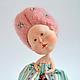 """Коллекционные куклы ручной работы. Ярмарка Мастеров - ручная работа. Купить коллекционная кукла """"Жозефина"""". Handmade. Розовый, девочка, карамельный"""