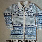 Одежда ручной работы. Ярмарка Мастеров - ручная работа Кофта вязаная. Handmade.