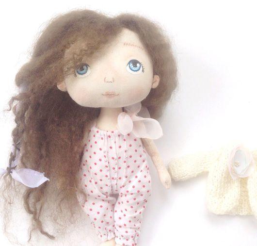 Коллекционные куклы ручной работы. Ярмарка Мастеров - ручная работа. Купить Текстильная кукла Рози. Handmade. Кукла ручной работы
