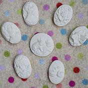 Материалы для творчества handmade. Livemaster - original item Porcelain cameo range. Handmade.