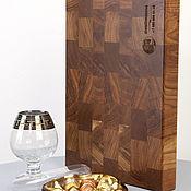 Для дома и интерьера handmade. Livemaster - original item End cutting board made of oak 350h250h40 mm. Handmade.