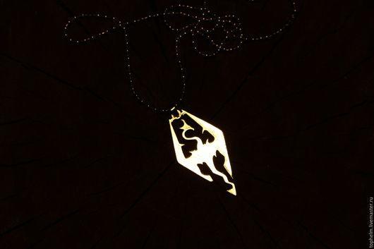 Кулоны, подвески ручной работы. Ярмарка Мастеров - ручная работа. Купить Кулон Скайрим / Skyrim pendant. Handmade. Скайрим