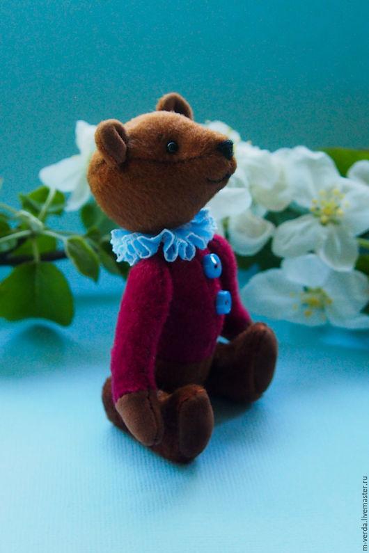 Мишки Тедди ручной работы. Ярмарка Мастеров - ручная работа. Купить Мини мишка тедди. Handmade. Коричневый, миник, игрушка