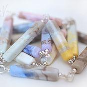 Украшения handmade. Livemaster - original item long necklace pastel