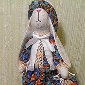 Куклы и игрушки ручной работы. Ярмарка Мастеров - ручная работа Зайка Тильда в шапке. Handmade.
