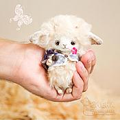 Куклы и игрушки ручной работы. Ярмарка Мастеров - ручная работа Барашек Одуванчик :). Handmade.