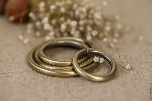 Шитье ручной работы. Ярмарка Мастеров - ручная работа. Купить Металлические кольца 15, 20, 25, 32, 38 мм. Handmade.